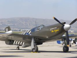 North American P-51A Mustang by Jetster1