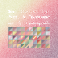 photoshop gradients: 01# by itskrystalized