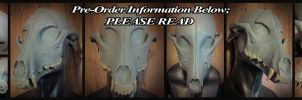 Wolf Skull Mask Pre-Orders: PLEASE READ by un-do