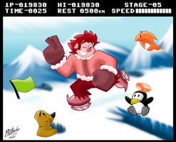 Wreck'd G-Jumps: Antarctic Ralph-dventure! by MRottweiler-Dog