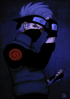 Sharingan no KAKASHI by fishydotlove