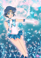 Sailor Mercury by MoritoSakura