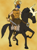 Alexander the Great's Steed by BrandonSPilcher