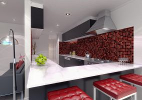 Kitchen modern by fraher-david