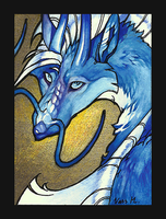 ACEO for Eloren by WhiteRaven90