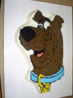 Scooby-Doo Cake by Robison300