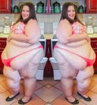 Bigcutie Trysta Set 152 Curvy with Cupcakes double by ENT2PRI9SE