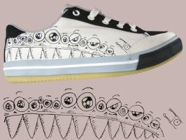 Sonnix Skate Shoes by Dinuguan