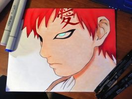 gaara by dizzygirllovesyou