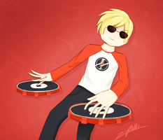 Dave Strider, the cool kid by yosibunn