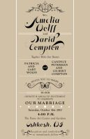 wedding Invite 10-16-2010 by daverazordesign