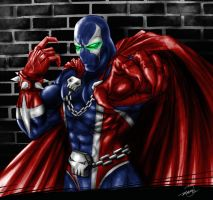 Spawn Fan Art by R.A.M. Painted by ramstudios1