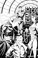 SDCC 2013 by Flocco