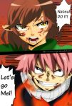 Fairy Tail - Natsu and Mei - Fighting Together by CosmosWings
