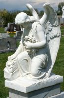 Mount Olivet Cemetery Angel 236 by Falln-Stock