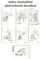 Will's Sketchbook collection by Mr-Xvious