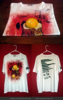 hand painted T-Shirt by i-scene-death