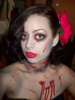 Zombie Pin Up 1 by Quiet-Storm-Stock