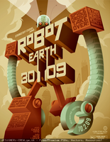 Robot Earth 3009 by SET07