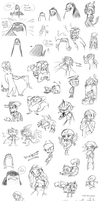 Sketch dump 06 by kancle