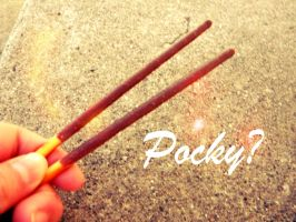Pocky? by RobotCharmz