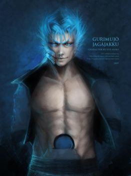 Grimmjow by oione