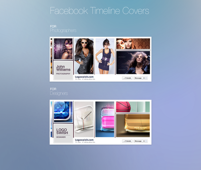 Facebook Timeline Covers Free PSD by Logoswish