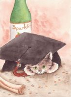 Grad Kitty 2010 by ValleyMeadow