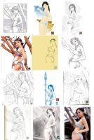 Drawing Night 2 - Compilation by MichaelCrichlow