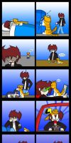 Comic: Me And My Cat by DukeStewart