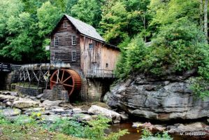 Grist Mill at Babcock SP by MellsPics
