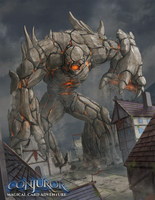 Rock Golem by BABAGANOOSH99