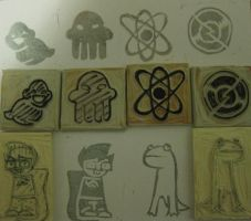 Homestuck Stamps by Doridachi