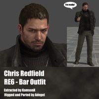 Chris Redfield RE6 Bar outfit by Adngel