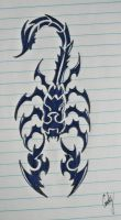 scorpio drawing by andy023