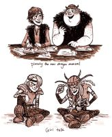 Viking Kids by workparty