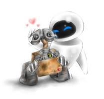 WALL-E and EVE Entry Eleven by PixarPlanetdA