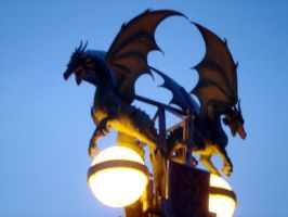 Stock 231: Dragon lamp by AlzirrSwanheartStock