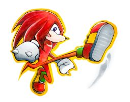 Knuckles by amelcore