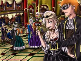 Masquerade Ball by sarugaki339