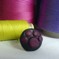 paw ring by strictlyhandmade