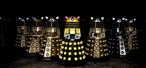 meet the DALEK ARMY Gmod version by NestieBot