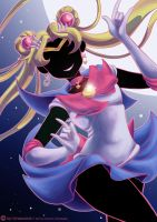 Sailor Moon Crystal by Honeyeater