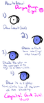 How to Draw Dangan Ronpa Eyes by SANRlO