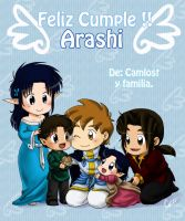 uncle Arashi by camlost