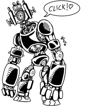 Robocamera C-1 by INKtears