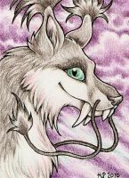 ACEO Trade: Kuchakuro by Agaave