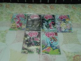 All my MLP Comics So Far by DestinyDecade