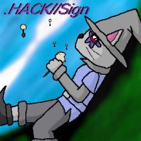 .HACKSign: cat player by EricaB