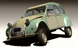 Citroen 2CV by Emigepa